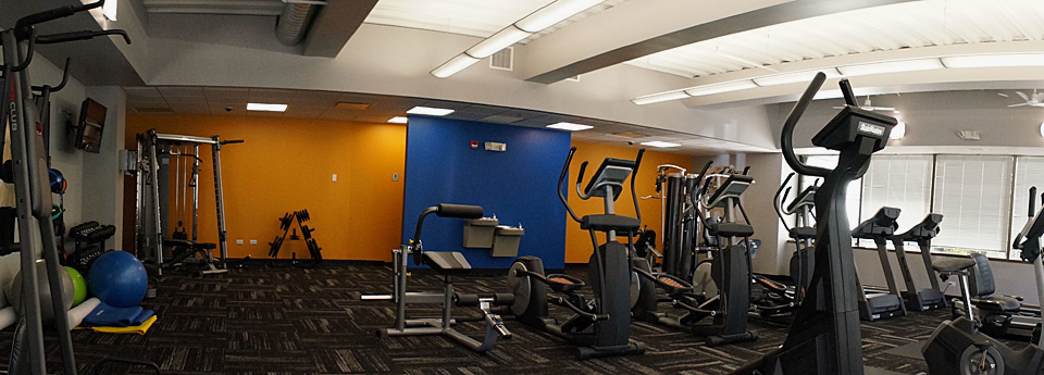 All tenants have access to the fitness center at 1011 E. Touhy